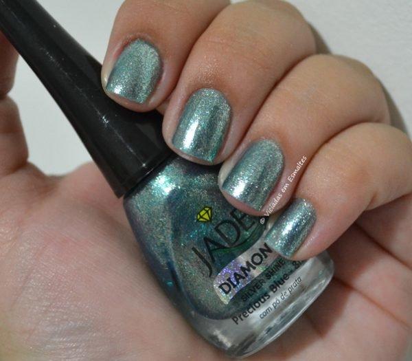 Esmalte Espelhado Jade Precious Blue
