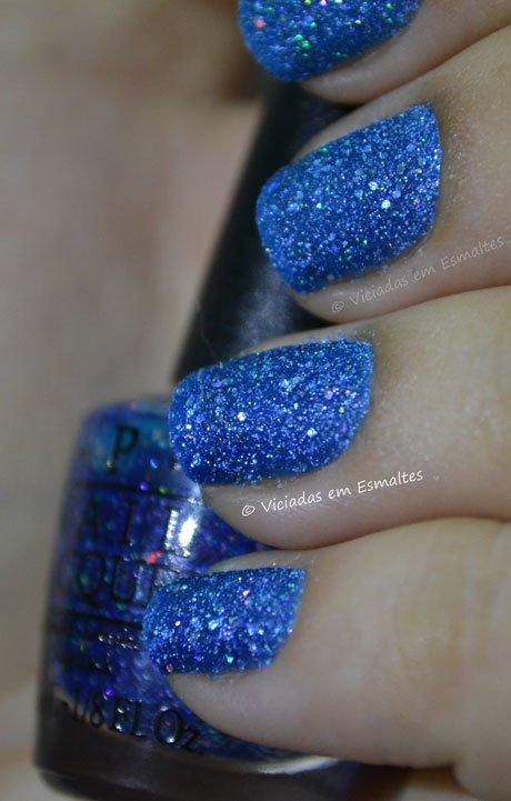 Esmalte Azul Liquid Sand