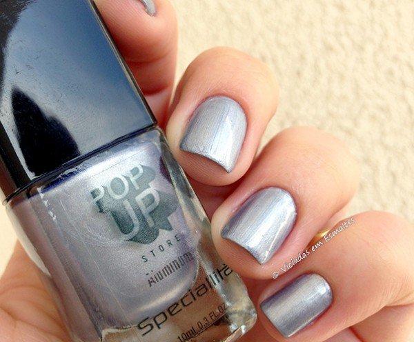 Esmalte Pop Up Store Aluminum