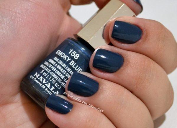 Esmalte Mavala Smoky Blue