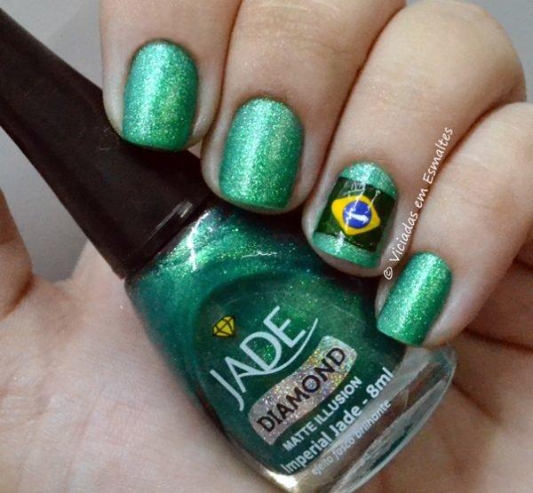 Esmalte Verde Imperial Jade