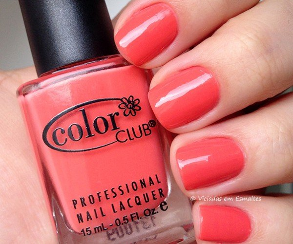 Esmalte Coral Cascade Color CLub