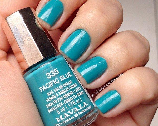 Esmalte Mavala Mini Color Pacific Blue