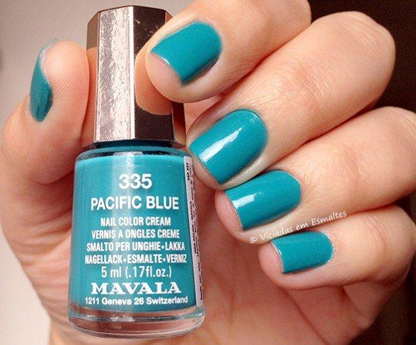 Esmalte Mavala Pacific Blue