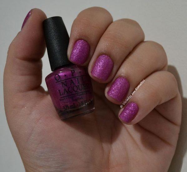 Esmalte OPI Liquid Sand Samba-Dy Loves Purple