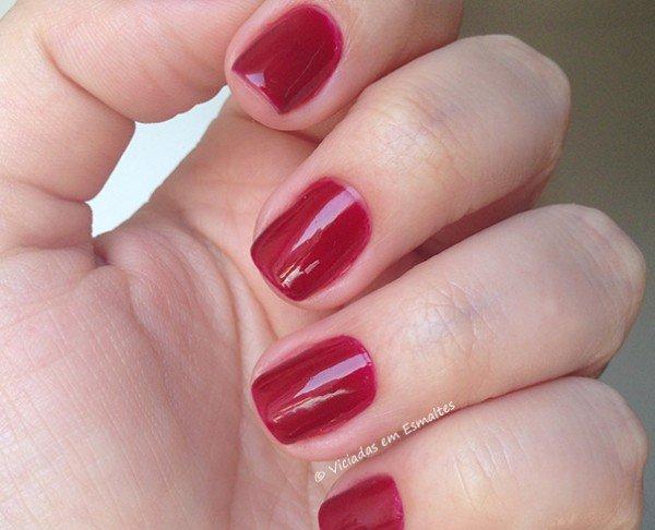 Esmalte Risqué 7 Vermelhos Capitais Pura Luxúria