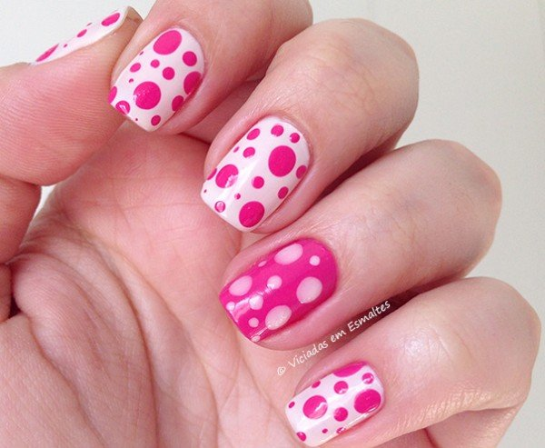Nail Art com esmalte Alfaparf