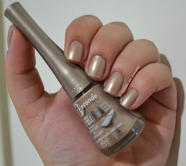 Esmalte Bourjois Perle Illusion 1 Sec Gel