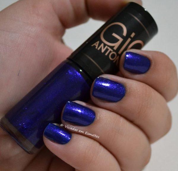Esmalte Azul Gio Antonelli Tremedeira