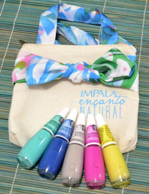 Coleção de <b >Esmaltes</b > Impala Encanto Natural