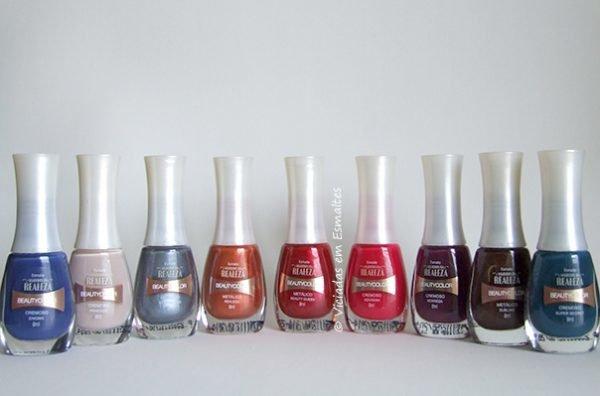 Coleção de Esmaltes Beauty Color Segredos da Realeza