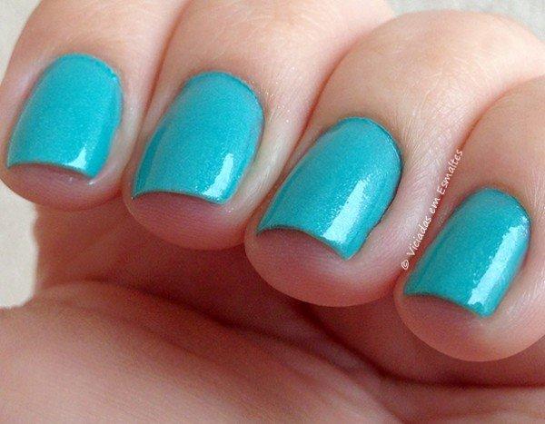 Esmalte Yenzah Nail Color Blue Jade