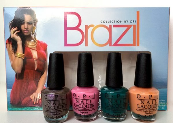 Esmaltes OPI Brazil Collection