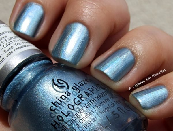 Esmalte China Glaze Holographic Sci Fly By