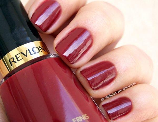 Esmalte Revlon 721 Raven Red