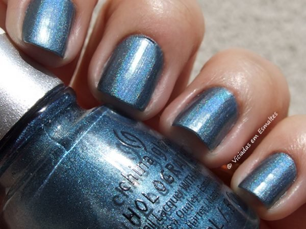 Esmalte China Glaze Holographic Take a Trek
