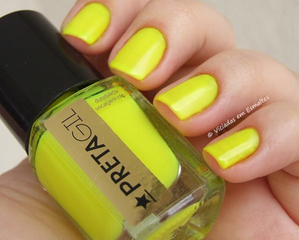 Esmalte Preta Gil Neon Tropical