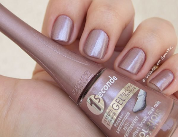 Esmalte Bourjois 1 Second Gel T19 Mauve Futuristic