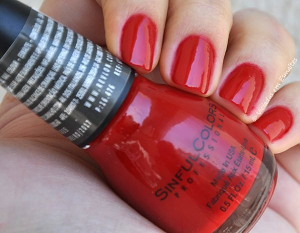 Esmalte Sinful Colors Ruby Ruby
