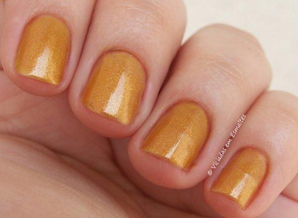 Esmaltes Bruna Marquezine - Perolado Gold
