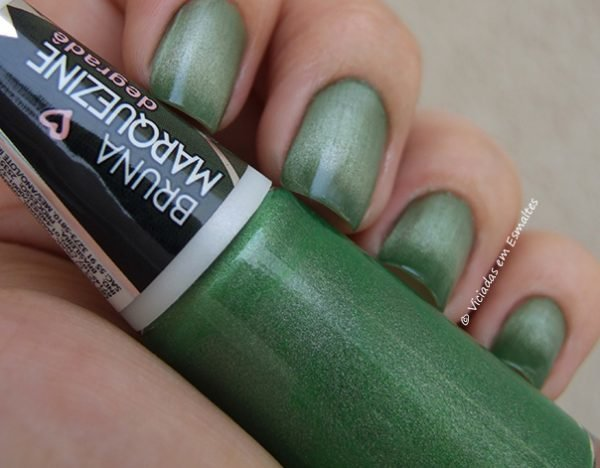 Esmalte Bruna Marquezine Degrade Verde Black