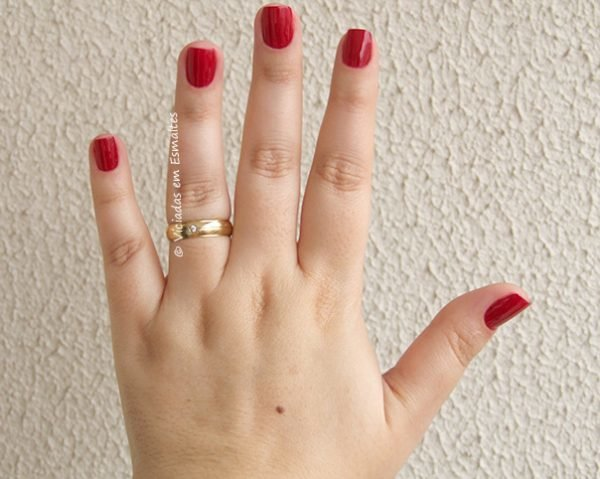 Esmalte Color Club BRRR-RED
