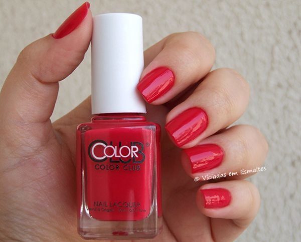 Esmalte Color Club Regatta Red