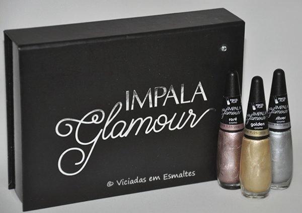 Esmaltes Impala Coleção Glamour