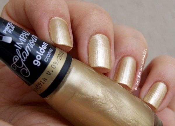 Esmalte Impala Golden Coleção Glamour