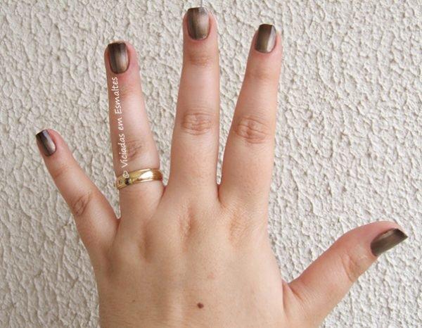 Esmalte Degrade Bruna Marquezine Gold Black