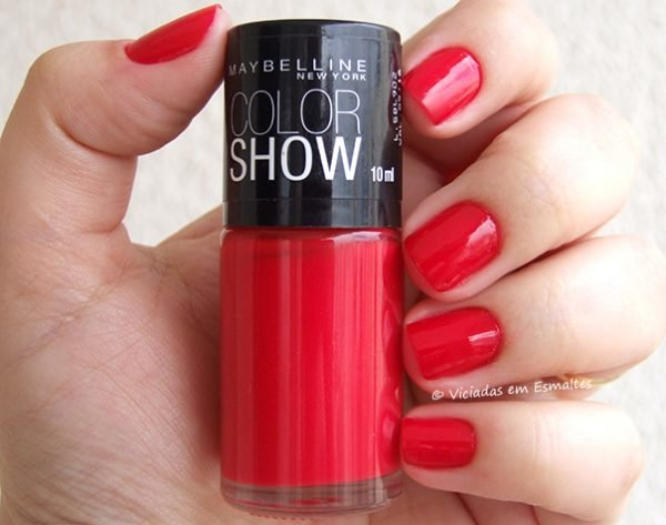 Esmalte Maybelline Color Show 250 Keep Up The Flame