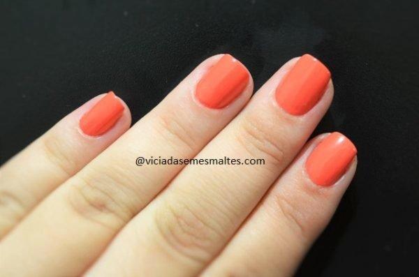 Esmalte Bourjois La Laque Orange Outrant