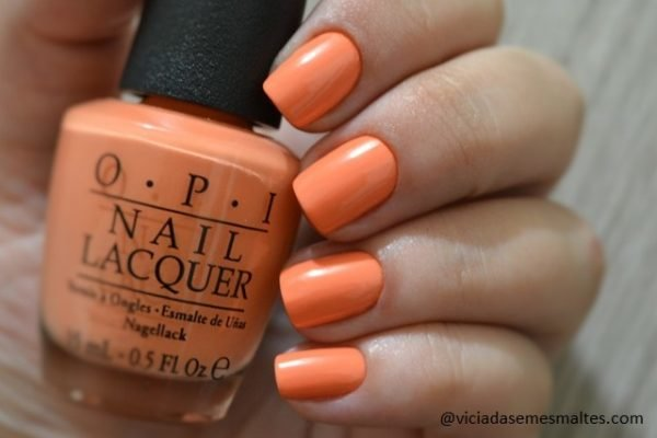 Esmalte OPI Where Did Suzis Mango