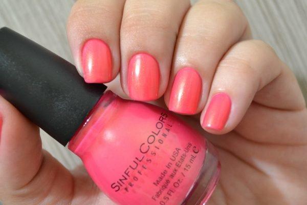 Esmalte Sinful Colors Cream