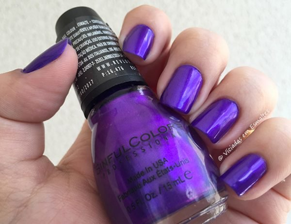 Esmalte Sinful Colors Lets Talk