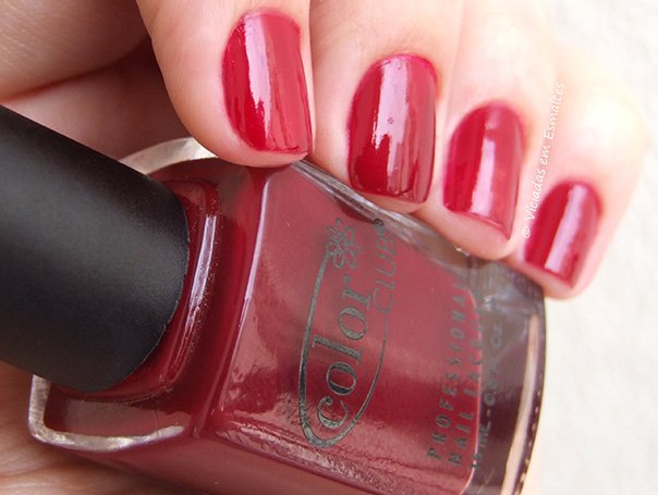 Esmalte Color Club Red-Ical Gypsy
