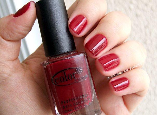 Esmalte Color Club Red-Ical Gypsy