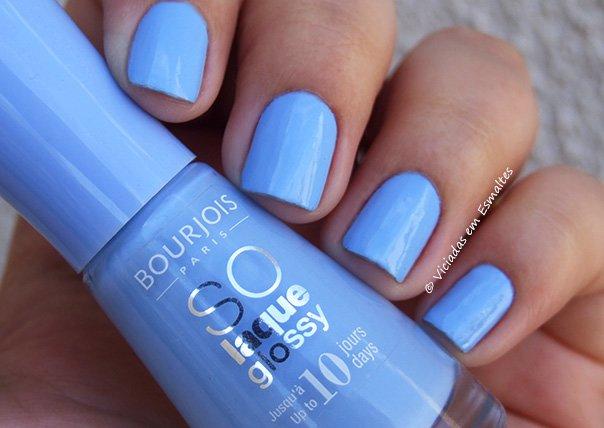Esmalte Bourjois So Laque Glossy Bleu Adorable