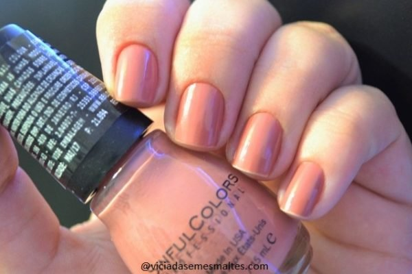 Esmalte Nude Sinful Colors Vacation Time