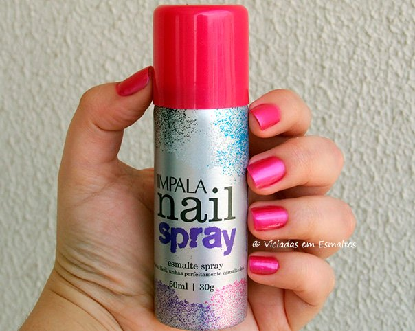 Esmalte Spray Impala Rosa Pink