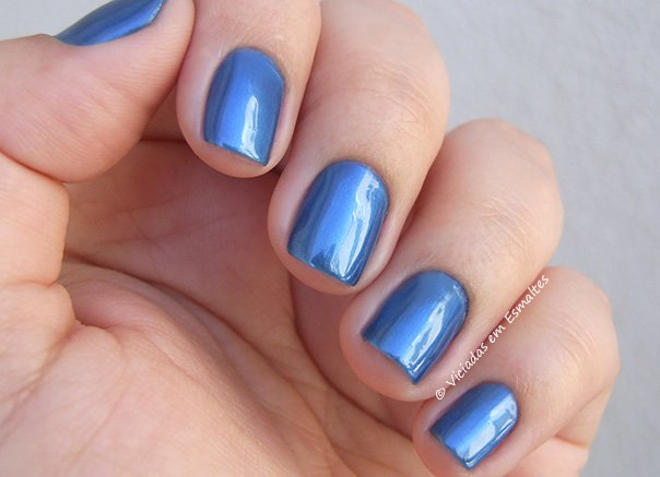 Esmalte Preta Gil Azul Real