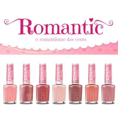 Esmaltes DNA Italy Romantic