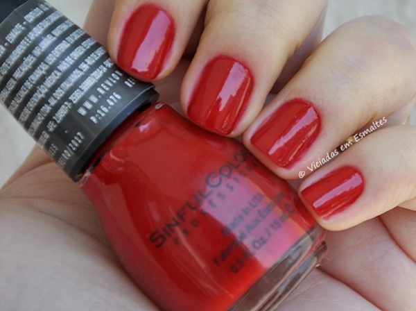 Esmalte Sinful Colors Hazard Ruby Ruby