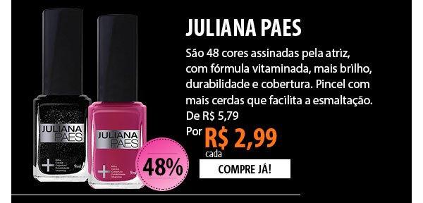 Esmaltes Juliana Paes