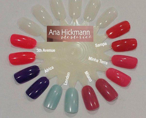Unhas com Esmaltes Ana Hickmann Memories