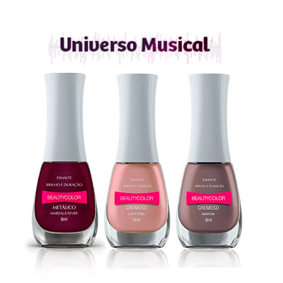 Esmaltes Beauty Color Universo Musical